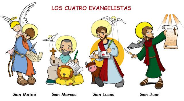 Resultado de imagen de evangelistas para niños