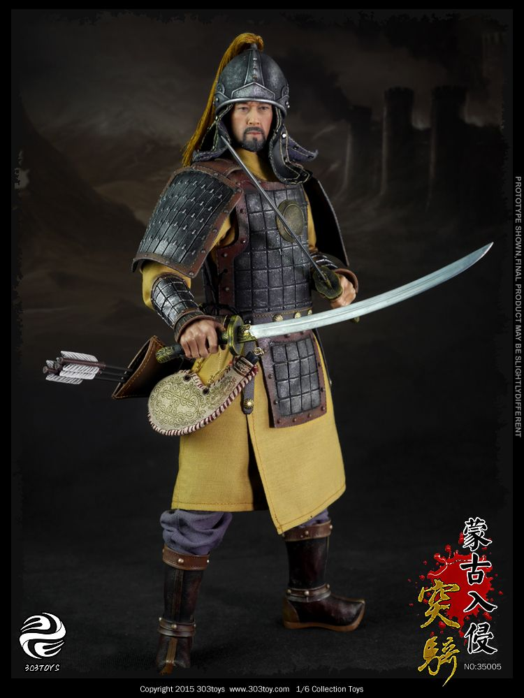 Onesixthscalepictures 303 Toys Mongol Cavalry Archer