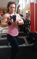 Female Bodybuilding and Fitness Motivation, Amazing Strength Muscle Madness