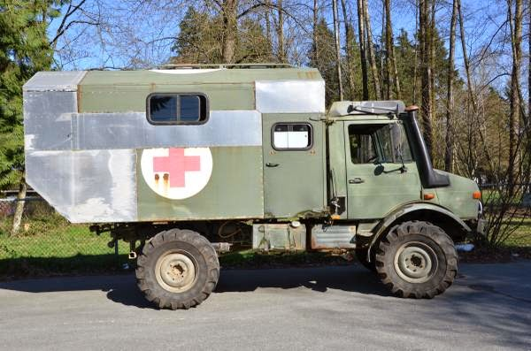 1987 Mercedes-Benz Unimog for Sale - 4x4 Cars