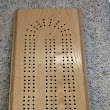 Splinters Woodworks: Custom Large Oak Cribbage Board