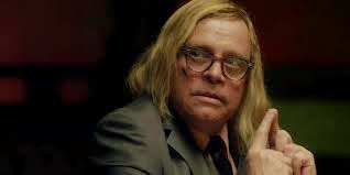 We didn't recognize Mark Hamill in his role of Crow in the movie Sushi Girl