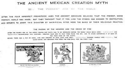 Illustration from the Mexican Creation Myth
