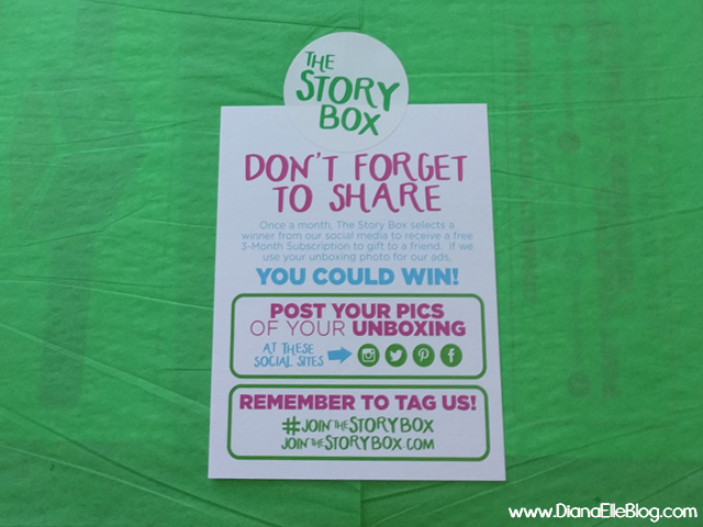 The Story Box, a monthly subscription of children's books. Win a free month if you share your unboxing, this is a great great gift for kids.