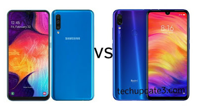 Samsung Galaxy A50 vs Redmi Note 7 Pro
