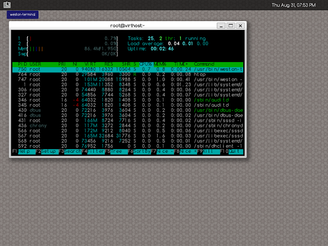Bootstrapping Alpine Linux QCow2 image