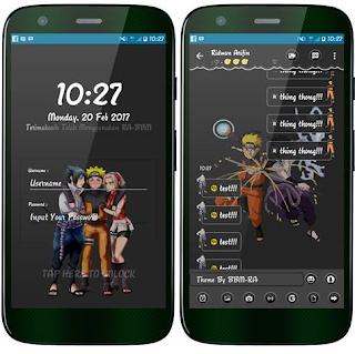 BBM Mod Naruto V3.3.0.16 Apk