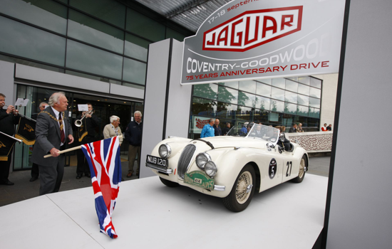 Jaguar 75th Anniversary 1935-2010