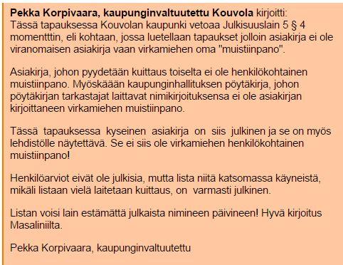 Pekka Korpivaara Kouvola