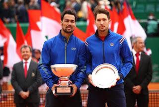 TENIS (Masters 1000 Montecarlo 2019) - Fabio Fognini logra su primer Masters 1000 en la tierra de Montecarlo