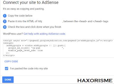 Kode Pendaftaran Google AdSense Untuk Ternak