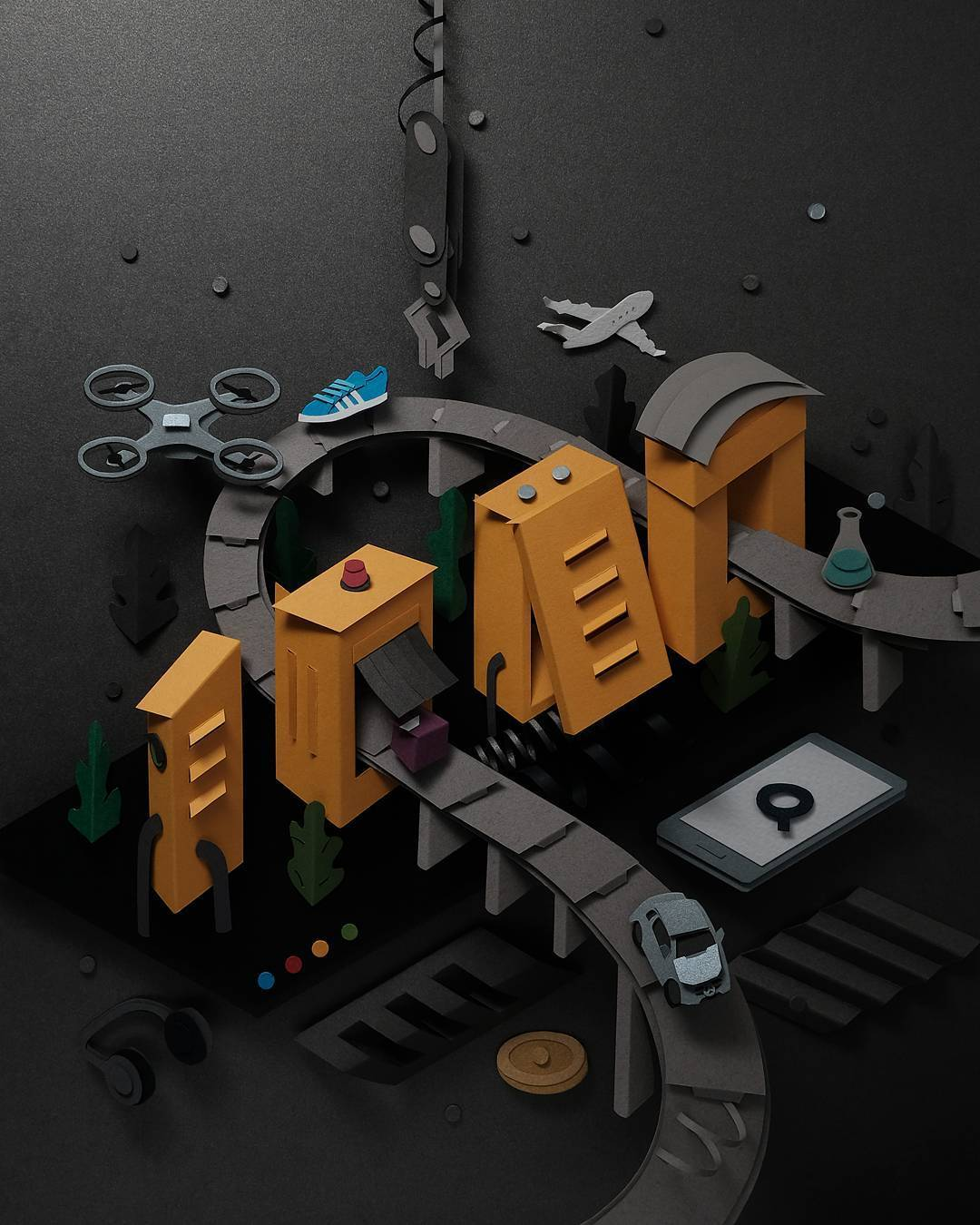 paper cut factory