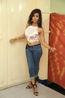 Deekshita Parvathi in a short crop top and Denim Jeans Spicy Pics Beautiful Actress Deekshita Parvathi January 2017 CelebxNext (8).JPG