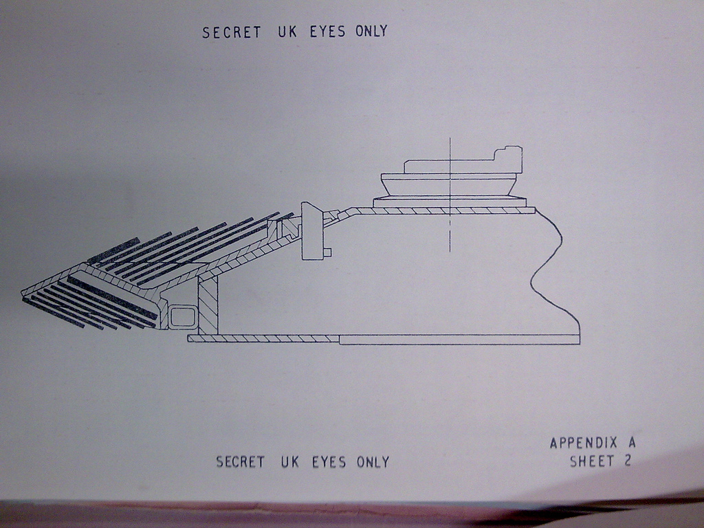 Below The Turret Ring: Chobham armor: facts and fiction 1