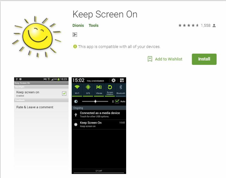 keep-screen-on