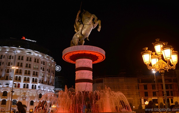 Macedonia square Alexander the great