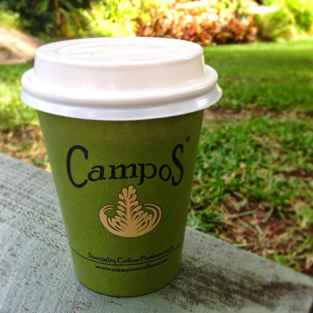 Campos Coffee Almond Milk Latte
