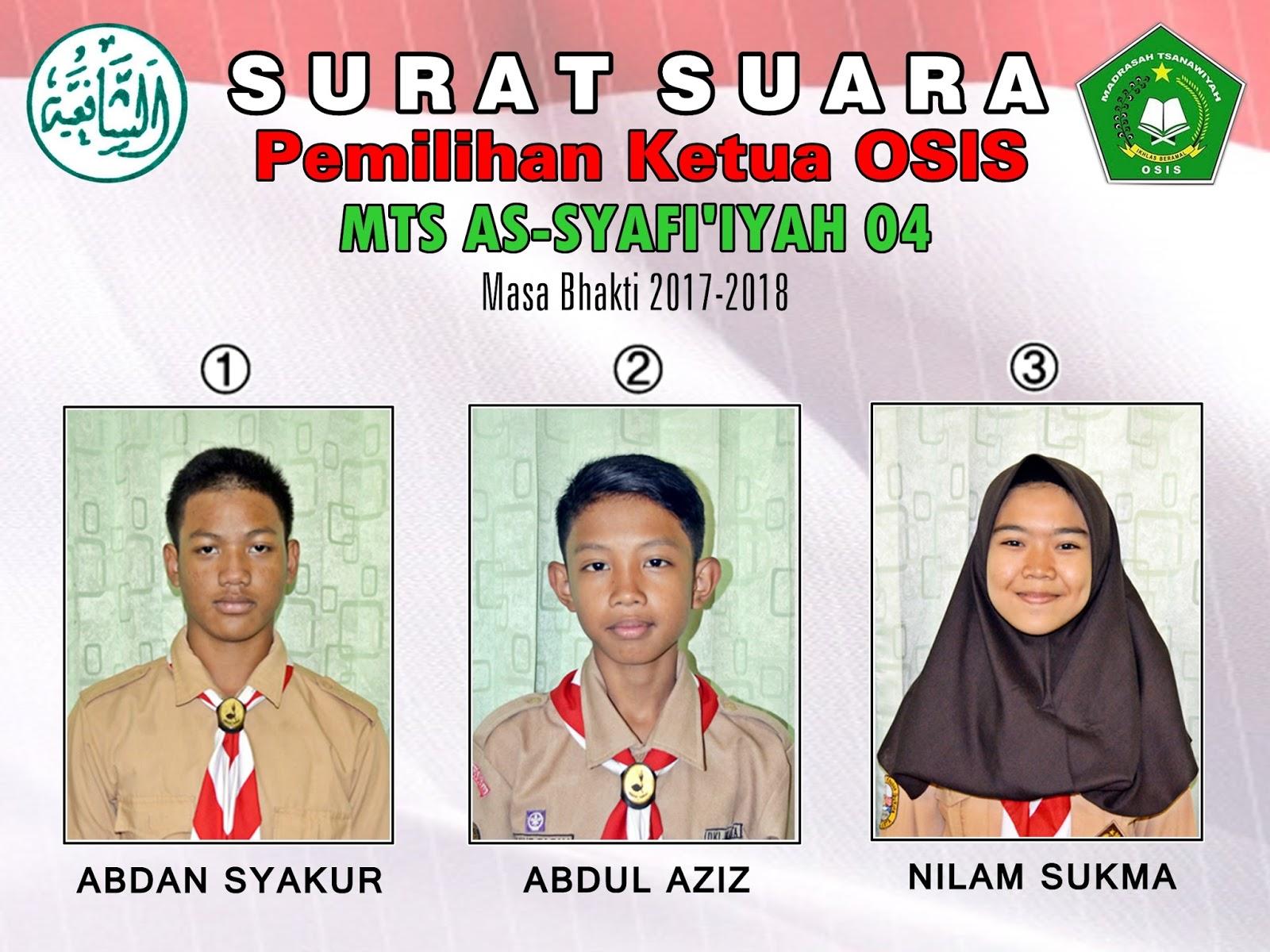 Mts As Syafiiyah 04 Jakarta Menggelar Ldks Hingga Pemilihan
