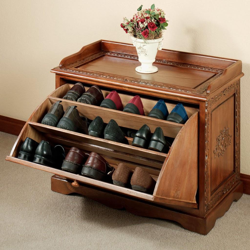 Interior Design Styles Ideas: DIY Shoe Organizer Designs