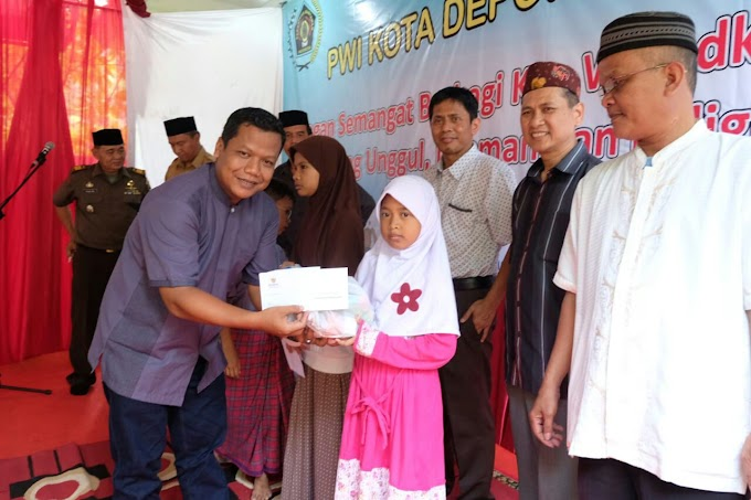 PWI Depok Peduli Anak Yatim