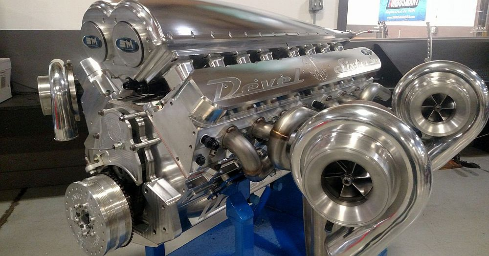 5000-hp, Quad-Turbo, 12.3 Liter V16 Is so Much more that ...