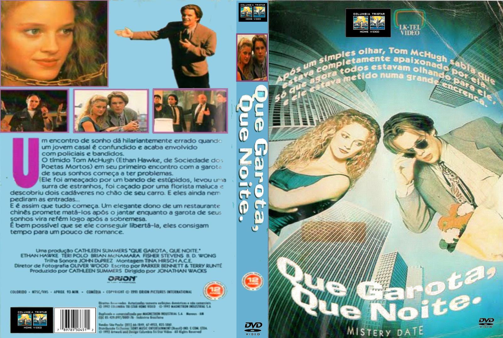 Capas de Dvd e Filmes: Capa do Filme Que Garota Que Noite