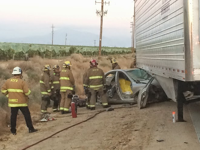 kern county big rig crash highway 99 bakersfield horacio herrera fatality