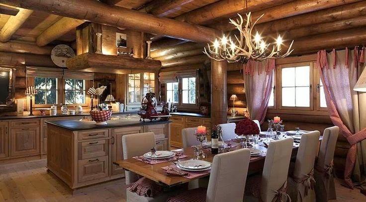 Il mio angolo nel mondo arredamento rustico per interni for Arredamento case di lusso