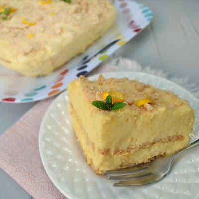 Pineapple-Orange Cream Pie (No-Bake)