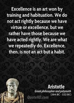Excellence In Art Quotes