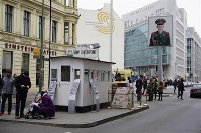 Checkpoint Charlie en Friedrichstrasse