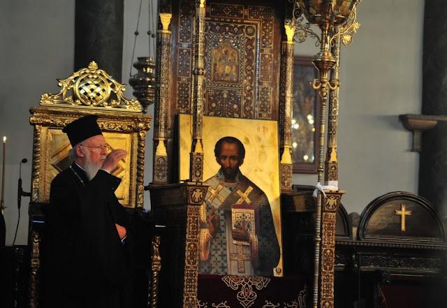 π.Θεόδωρος Ζήσης, Διάδοχος του αγ. Ιωάννου του Χρυσοστόμου ο πατριάρχης Βαρθολομαίος;