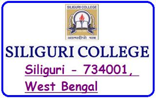 Siliguri College, Siliguri - 734001, West Bengal