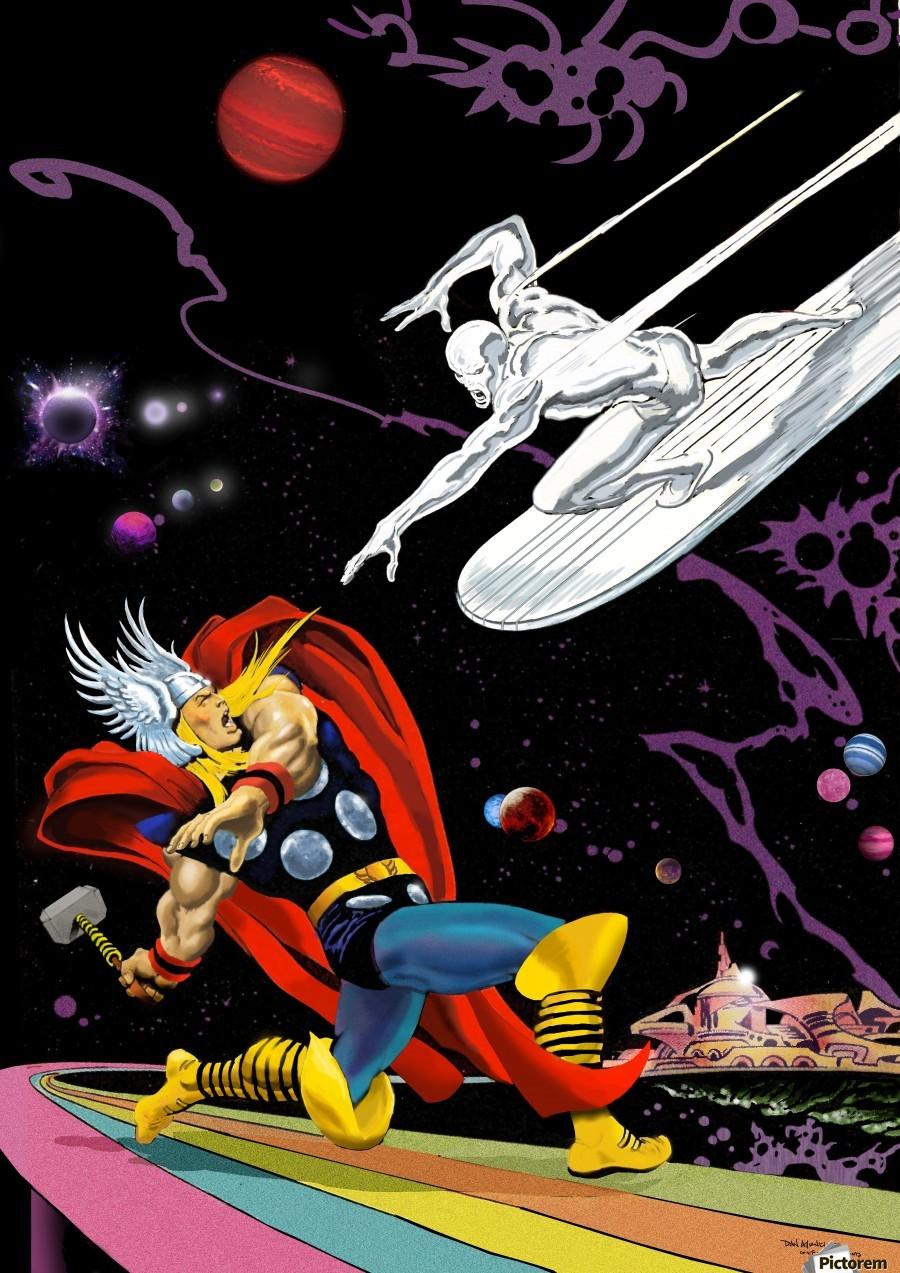 Hero Envy The Blog Adventures Thor Vs Silver Surfer