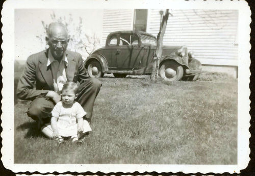 father and daughter 1950