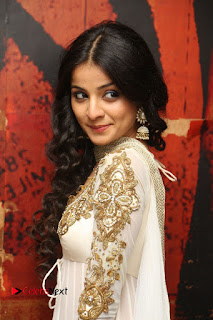 Telugu Actress Mahima Makwana Stills in White Desginer Dress at Venkatapuram Movie Logo Launch  0081.JPG