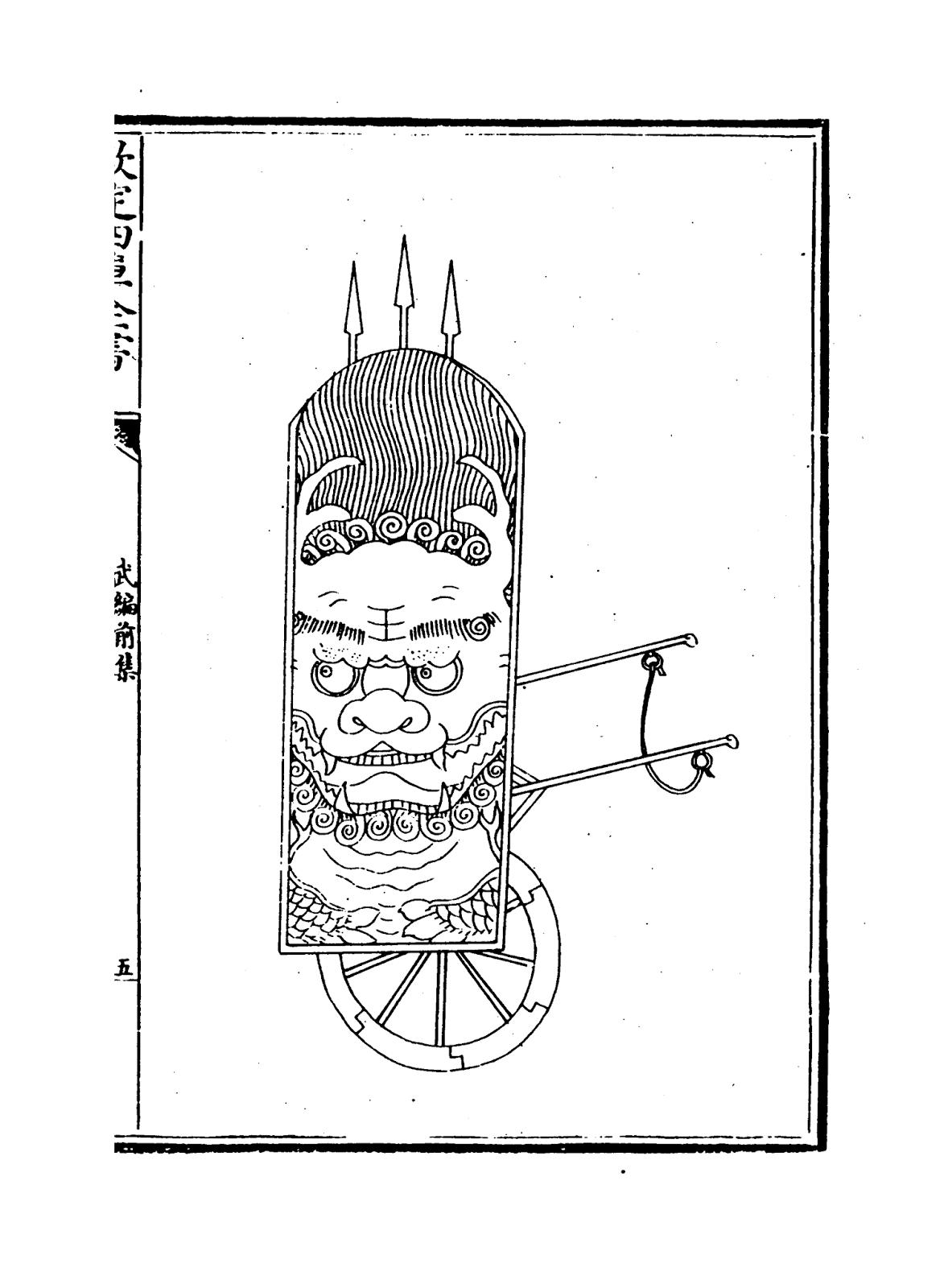 Ming Dynasty Mantlet Shield