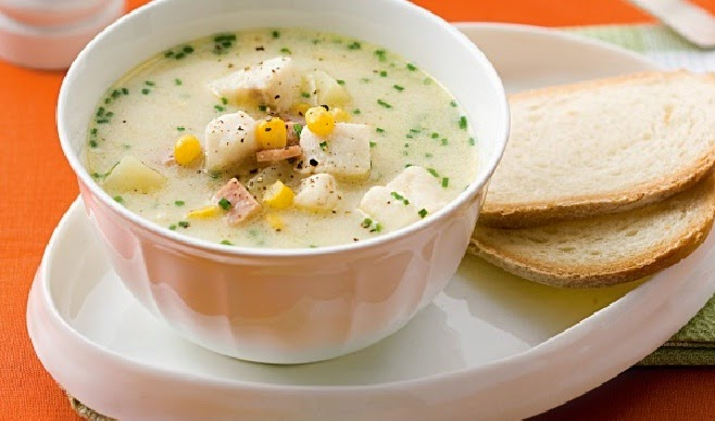 Easy Fish Chowder Recipe Typical America