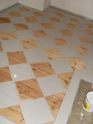 Stora Prästgården  Målat golvet rutigt 75fa90b23e5ac