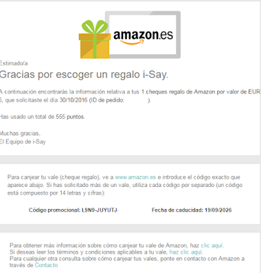 REGALO AMAZON POR ENCUESTA