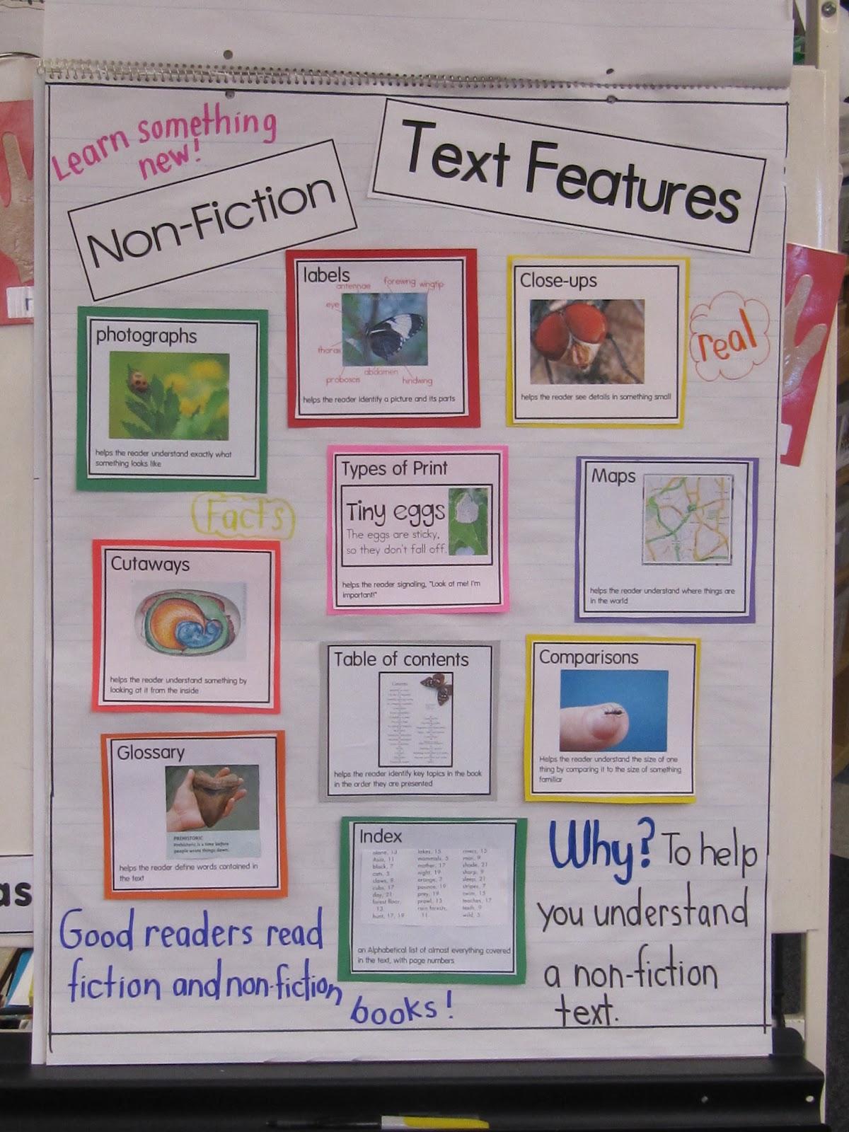 Nonfiction text features also joyful learning in kc rh joyfullearninginkcspot