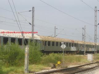 Αποτέλεσμα εικόνας για Σκουριαζουν παλια βαγονια του ΟΣΕ Σιδηροδρομικά Νέα