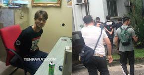Thumbnail image for (Gambar) Farid Kamil Tampar Polis Dalam Keadaan Khayal Ganja, Ditahan Polis & Direman Esok