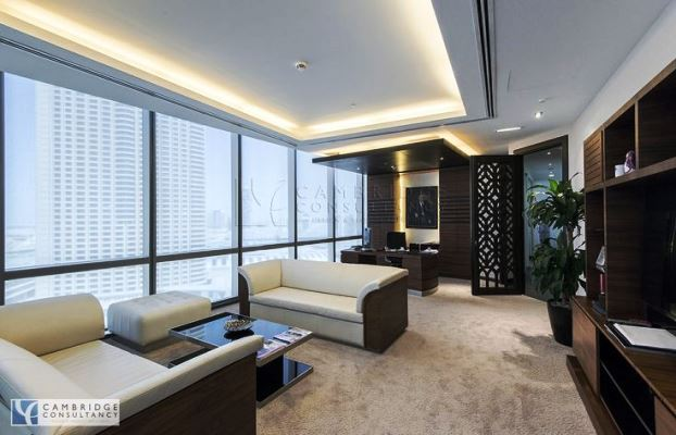 21 luxury executive office decorating tips for Modern executive office design ideas