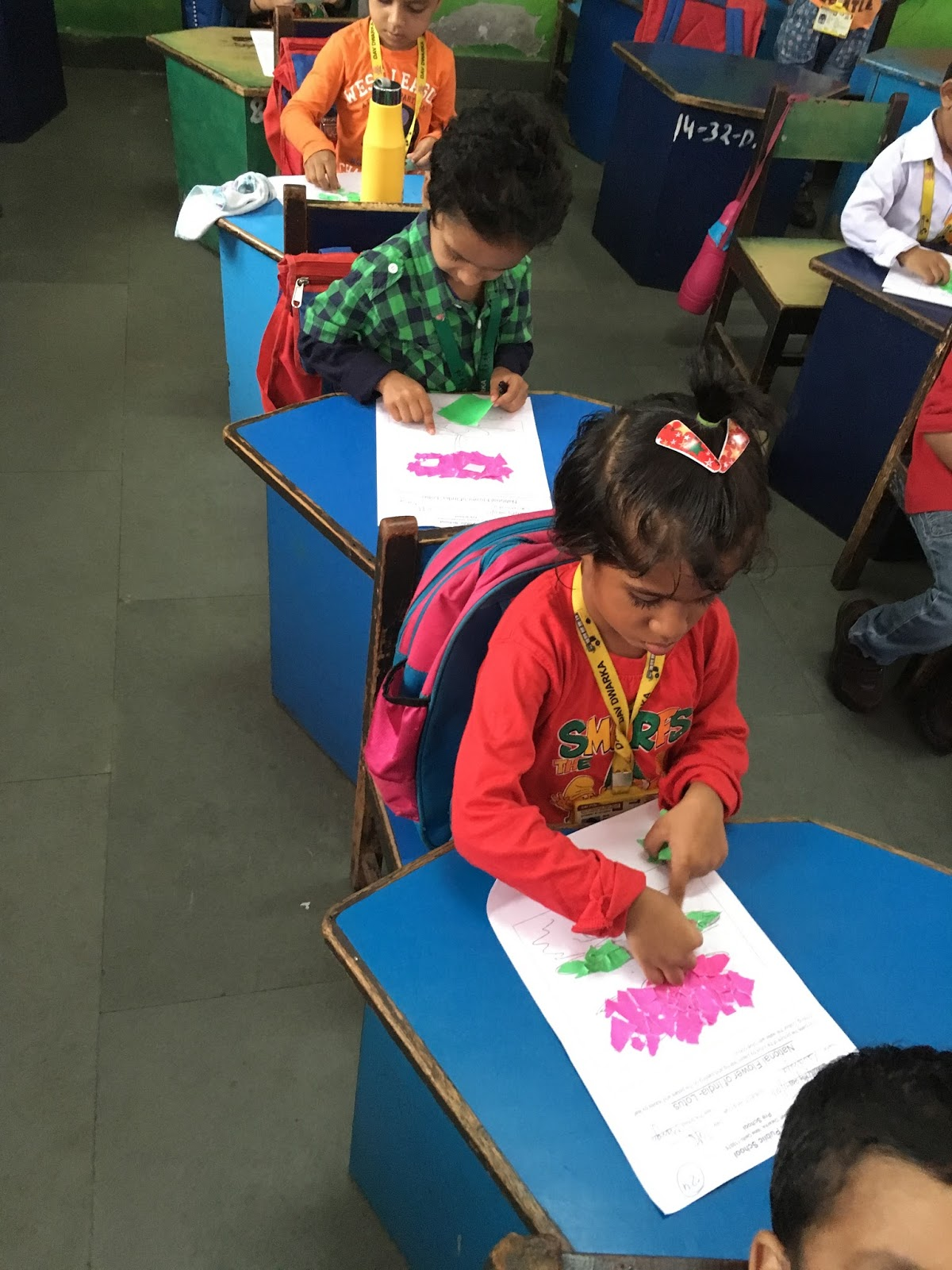 Independence Day Activity Dav Dwarka Kindergarten