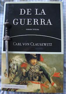 Portada del libro De la guerra, de Carl von Clausewitz