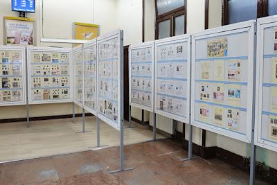 Exposición filatélica de Semana Santa en Avilés