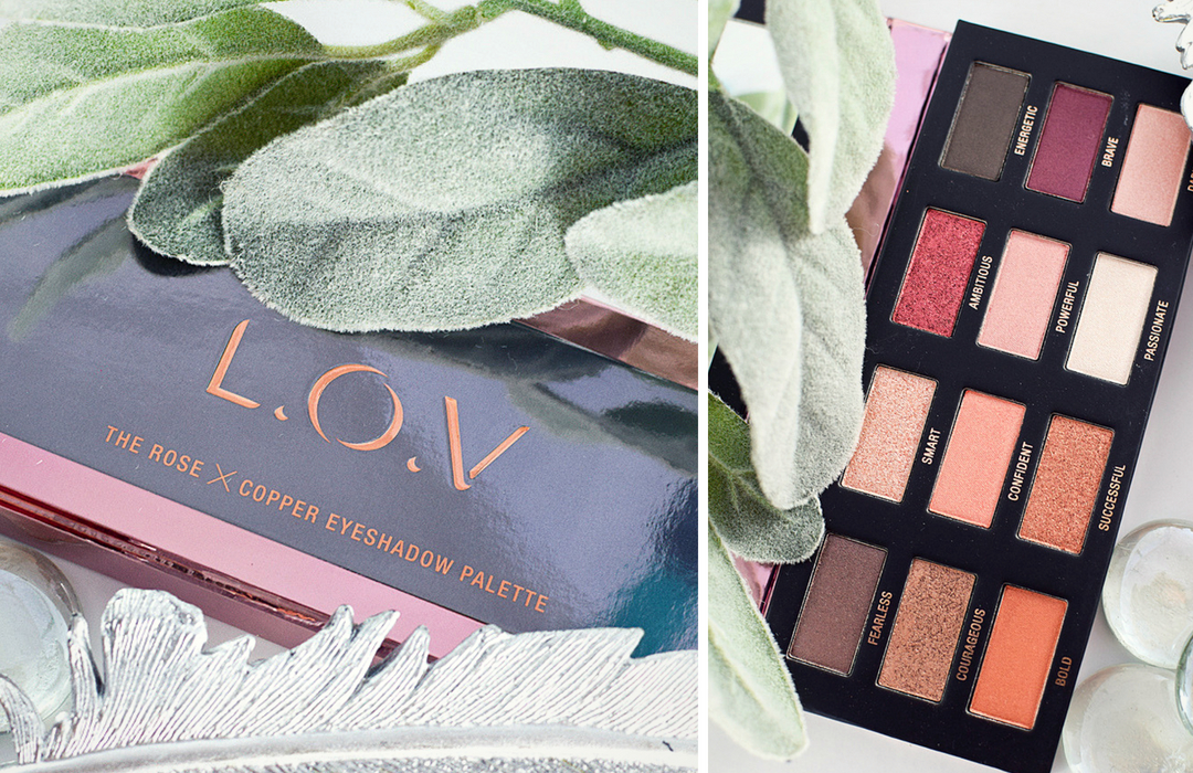 Wie gut ist die L.O.V The Rose x Copper Eyeshadow Palette?