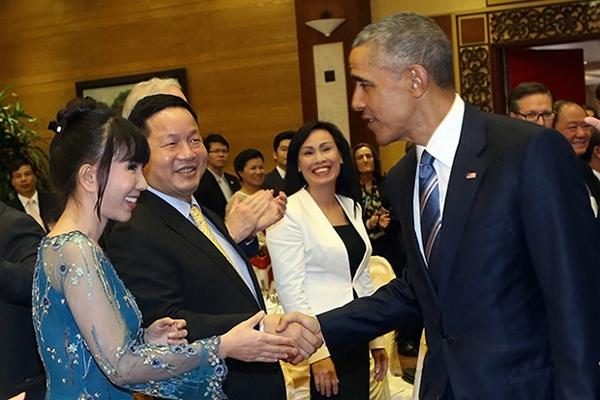 Chủ Tịch Tập Đoàn FPT Gặp Gỡ Tổng Thống Mỹ Barack Obama