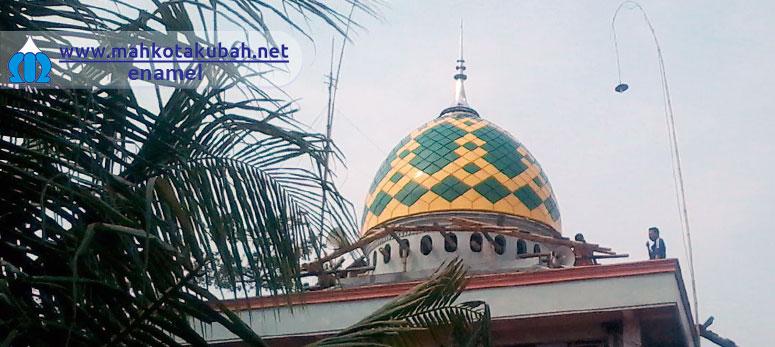 Kubah Masjid Enamel Harga Murah Semarang